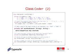 coder class scala exchange opening