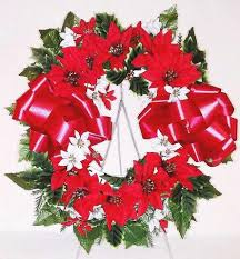 christmas flowers christmas flower arrangements for cemeteries and