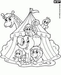 circus clown face printable circus party theme pinterest