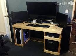 Music Production Desk Plans Stunning Real Wood Computer Desk Marvelous Cheap Furniture Ideas