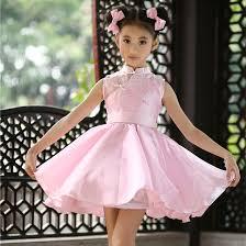 bl chinese style kids fashion designer dress traditional girls