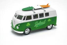 volkswagen models van volkswagen camper van with tricolour surfboard