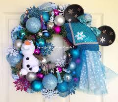 Frozen Christmas Decorations Best 25 Frozen Wreath Ideas On Pinterest Wreath Tulle Diy