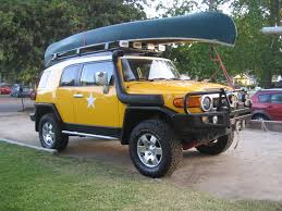maybe getting a canoe need roof rack suggestions toyota fj