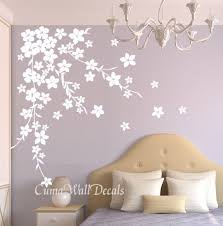 White Flower Wall Decor Best 25 Flower Wall Decals Ideas On Pinterest Floral Vintage