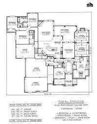 4 car garage size house 4 car garage house plans