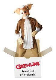 mens official gremlins costume halloween retro 80s fancy dress