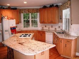 oak cabinets white granite countertops with oak cabinets white granite