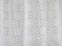 Moroccan Print Curtains White Sheer Curtain Panel Moroccan Curtain Lattice Trellis Voile