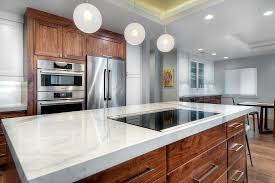 building designers san francisco white marble countertops kitchen midcentury with