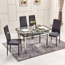 china glass dining table and chairs from langfang trading company