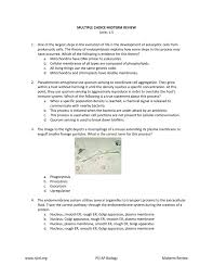 www njctl org psi ap biology midterm review multiple choice