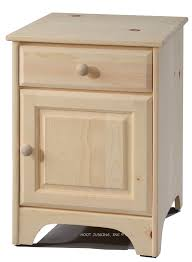 Unfinished Furniture Nightstand Marvelous Unfinished Furniture Nightstand With Hoot Judkins
