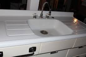 installing antique iron kitchen sink with drainboard u2013 home design