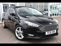 used ford focus tdci used ford focus 1 5 tdci 120 zetec 5dr shadow black 2016