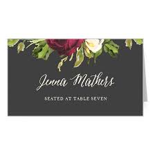Place Cards Wedding Wedding Place Cards Free Guest Name Printing Basic Invite