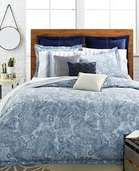 closeout tommy hilfiger canyon paisley bedding collection