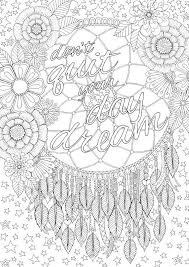 coloring page design 136 best dreamcatcher coloring pages for adults images on