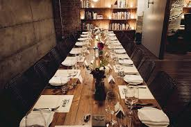 Fancy Dining Rooms Groups Ethan Stowell Restaurants Seattle