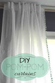 top 25 best pom pom curtains ideas on pinterest diy curtain