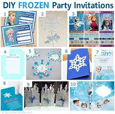 75 diy frozen birthday party ideas u2013 about family crafts