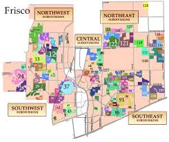 frisco map frisco subdivisions map frisco homes for sale by subdivision