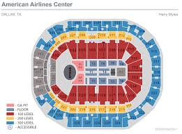 Nhl Map Seating Maps American Airlines Center