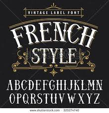 Best Font Style For Resume by Best 25 French Font Ideas On Pinterest