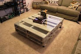 coffee table decor diy diy pallet coffee table diy home decor