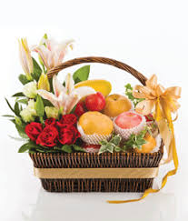 fruit flowers baskets fruit baskets singapore fruit baskets angel florist