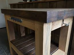 kitchen island oak top kitchen design