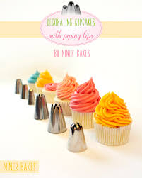 cupcake decorating basic icing frosting piping techniques how to