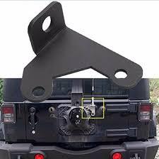jeep tire carrier car cb antenna mount holder bracket for 07 16 jeep wrangler jk