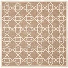 Square Indoor Outdoor Rugs Square 7 And Larger Outdoor Rugs Rugs The Home Depot