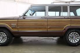 brown jeep 1981 jeep wagoneer limited beverly hills car club
