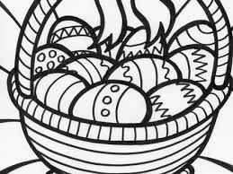 free easter colouring pages organised housewife easter