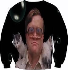 trailer park boys bubbles sweater crewneck by yeahwhateverz