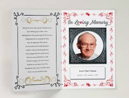 funeral invitation template free funeral program using funeral template unlimited content