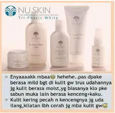 Pemutih Wajah Nu Skin nu skin tri phasic white jual tri phasic white manfaat dan