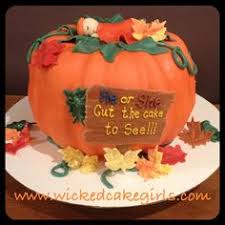 pumpkin gender reveal cake cakes pumpkin gender