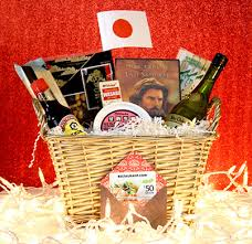 Travel Gift Basket Leave A Flavor Vacation Under The Tree With Cuisine Themed Gift