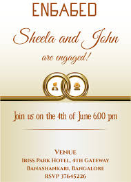 engagement invitation quotes free ring themed engagement invitation card with wordings check it