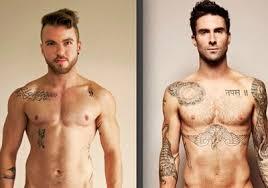 trans model recreates that adam levine photo pinknews