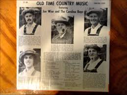 old time country music featuring joe wise and the carolina boys