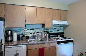how to put up tile backsplash in kitchen affordable diy backsplash mosaic tile paint project mobile home