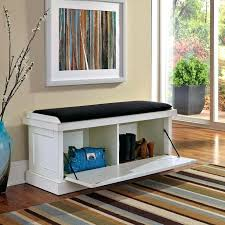 Indoor Storage Bench Seat Plans by Bench With Storage Bins U2013 Baruchhousing Com