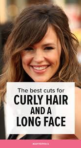 cool haircuts for long hair the best cuts for curly hair and a long face beautyeditor