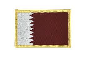 Flag Of Qatar Flag Patch Qatar Royal Flags