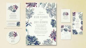 succulent wedding invitations read more succulents bouquet wedding invitations wedding
