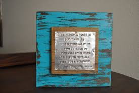 scripture house warming gift wedding gift bible verse